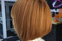 окрашивание волос в рыжий