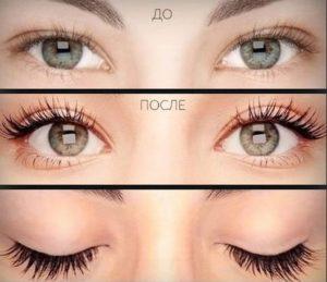 Фото глаз девичьих с ламинированием
