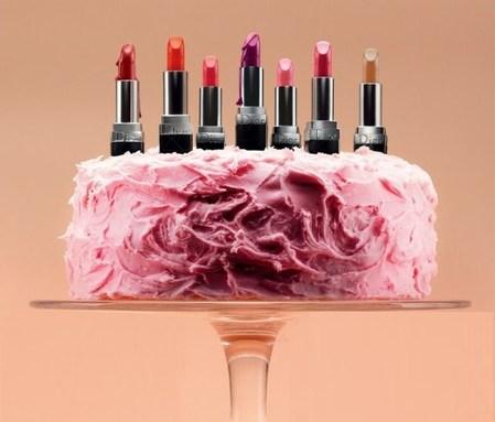 Тортик с помадами